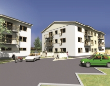 Apartment buildings in Lagedi, Jaama 10, 10a